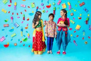 Diwali fashion for kids