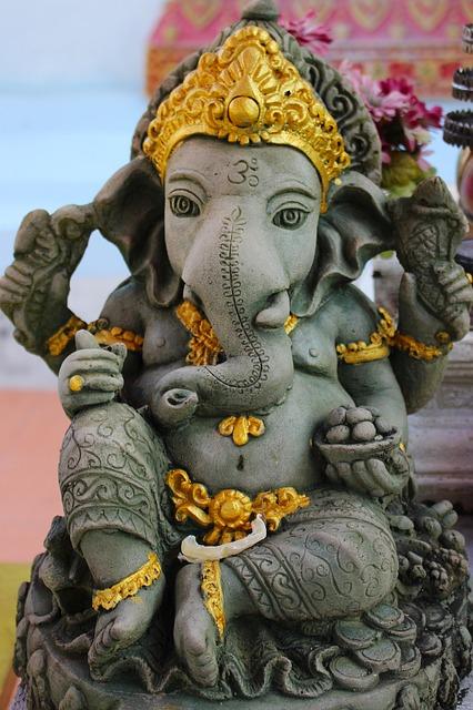 Mud statue of Lord Ganesha!